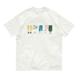 あしもと Organic Cotton T-shirts