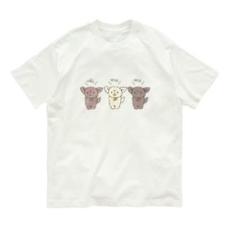 hatsubare*のちわとりお Organic Cotton T-shirts