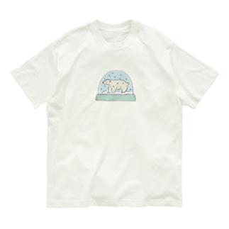 シロクマスノードーム Organic Cotton T-shirts