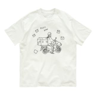 郵便やさん Organic Cotton T-shirts