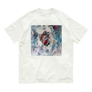 Side Face 003 Organic Cotton T-Shirt