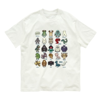 2.5等身 UMA図鑑 Organic Cotton T-shirts