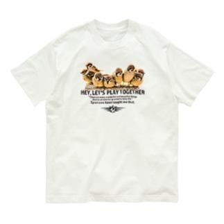 一緒に遊ぼう! #001 Organic Cotton T-shirts
