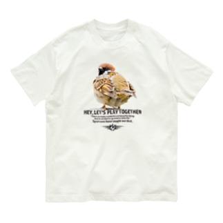 一緒に遊ぼう! #002 Organic Cotton T-shirts