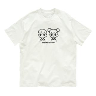 ふたりはいっしょ Organic Cotton T-shirts