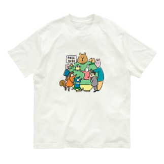 suzuharu_no_goodsのフリ〜ハグ  Organic Cotton T-shirts