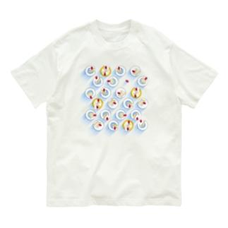 ショートケーキな日 Organic Cotton T-shirts