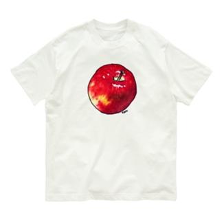 大きいおりんごくん Organic Cotton T-shirts
