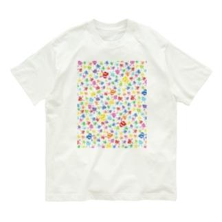 ちらかったありんこ Organic Cotton T-Shirt