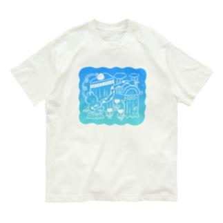 昨日見た夢(グラデ〜ション) Organic Cotton T-shirts