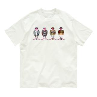 文鳥四季折々 Organic Cotton T-shirts