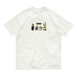 サボテンくん Organic Cotton T-shirts
