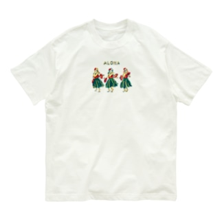 フラガール👩🏼🌺 Organic Cotton T-shirts