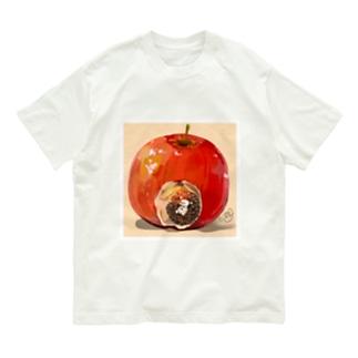 りんごでひと休み Organic Cotton T-shirts