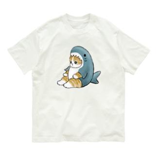 サメにゃん Organic Cotton T-shirts