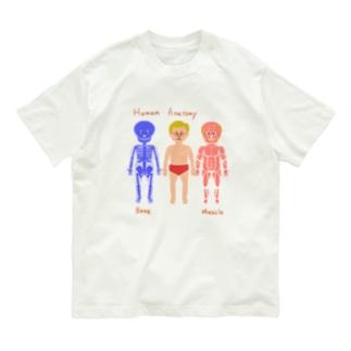 Akapanアナトミー Organic Cotton T-shirts