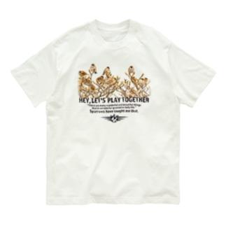 すずめの成る木 Organic Cotton T-shirts