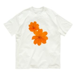 キバナコスモス Organic Cotton T-shirts