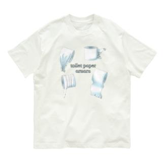 ニムニムのお部屋のトイレットペーパーあるある Organic Cotton T-Shirt