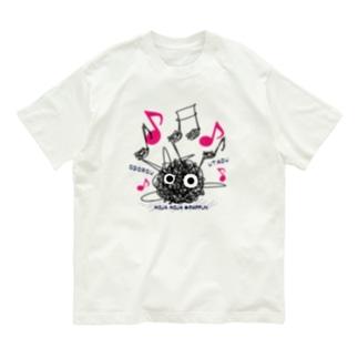 CT106 もじゃもじゃ★ぱっふん*ODOROU UTAO*A Organic Cotton T-Shirt