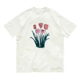 チューリップ Organic Cotton T-shirts