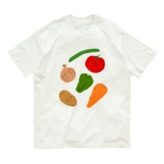ベジタブル! Organic Cotton T-shirts