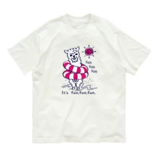 CT67あるぱかイズムのsun sun sun Organic Cotton T-Shirt