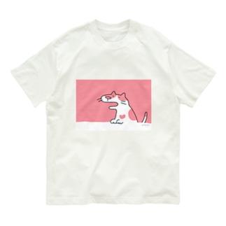 ぶちねこさん Organic Cotton T-shirts