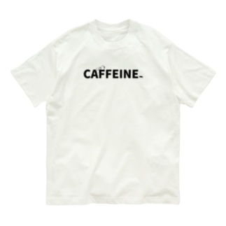 CAFFEINEロゴ Organic Cotton T-Shirt