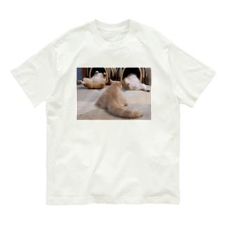 ヘソ天占い Organic Cotton T-Shirt
