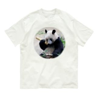 もしもしシャンシャン Organic Cotton T-shirts