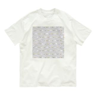 ちみまめオカメインコちゃん【まめるりはことり】 Organic Cotton T-shirts