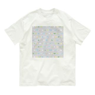 ちみまめマメルリハちゃん【まめるりはことり】 Organic Cotton T-shirts
