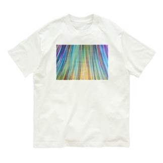 虹色光線2 Organic Cotton T-shirts