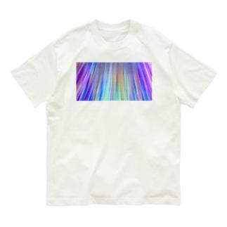 虹色光線3 Organic Cotton T-shirts