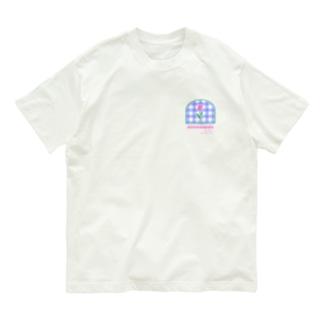 tulip×check Organic Cotton T-shirts