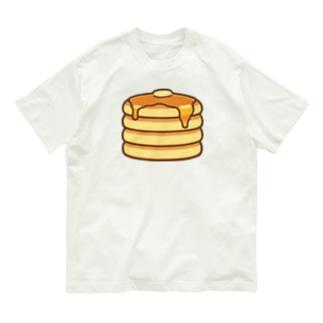 かわいいホットケーキ Organic Cotton T-shirts