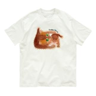 サビイロネコ Organic Cotton T-Shirt