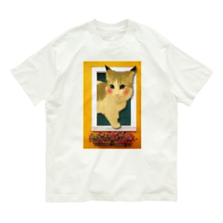 黄色いMOMO 開店記念 特別価格  Organic Cotton T-shirts