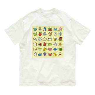 みずしまワークスの秋(おみなえし) Organic Cotton T-shirts