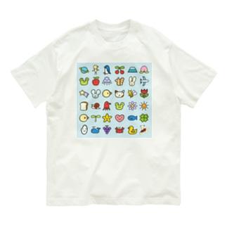 みずしまワークスの冬(しらあい) Organic Cotton T-shirts