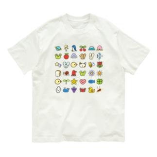 みずしまワークスちらし36柄 Organic Cotton T-shirts