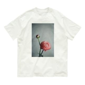 ラナンキュラス Organic Cotton T-shirts