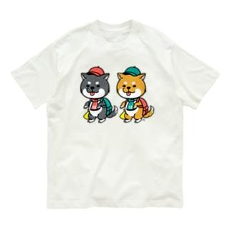柴犬グッズ Organic Cotton T-shirts