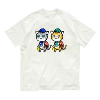 猫さまグッズ Organic Cotton T-shirts