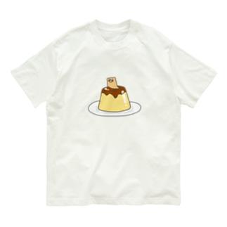 (プリン)くそざこなめくじちゃん Organic Cotton T-shirts