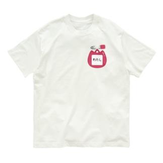 CT128 幼稚園バッチ・名札D*わたし Organic Cotton T-shirts