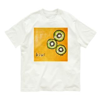 キウイくん Organic Cotton T-shirts