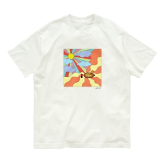 pizza party day Organic Cotton T-Shirt