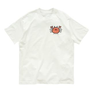ひよこかに Organic Cotton T-shirts